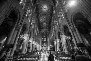 Interior da Notre Dame
