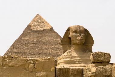 Esfinge e Pirâmides, Cairo