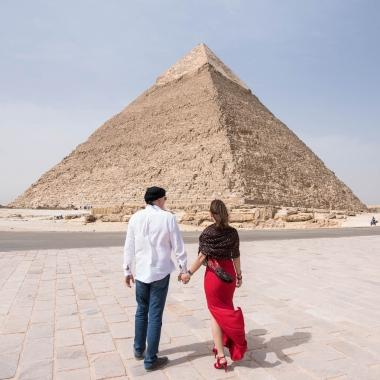 Pirâmide de Quéfrem, Cairo