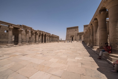 Templo Philae, Aswan, Egito