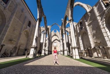 Ruinas do Convento do Carmo, Lisboa