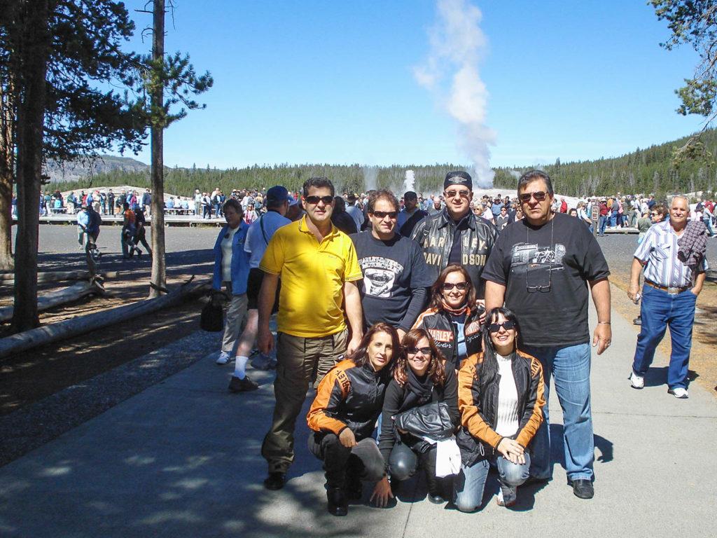 Yellowstone Old Faithfull