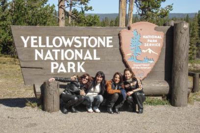 Nossas Harleys no Yellowstone!