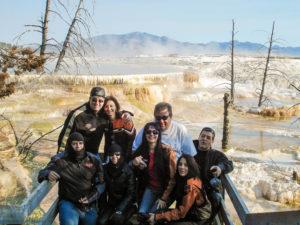 Yellostone Mammoth Springs