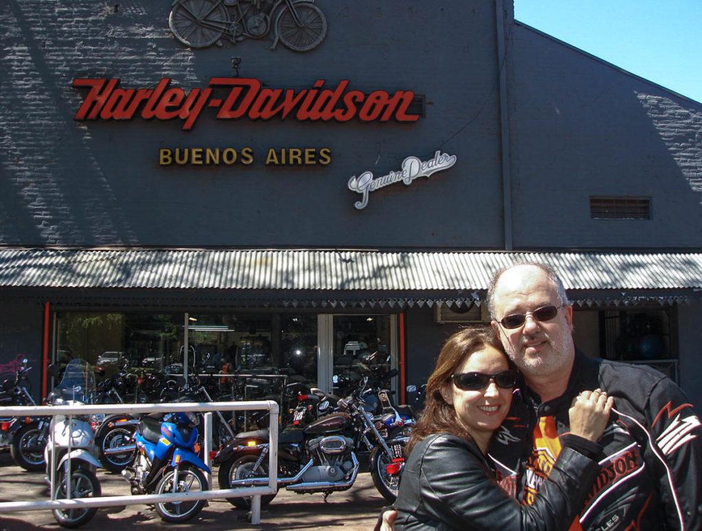 Loja Harley em Buenos Aires