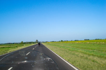 Nosso primeiro contato com as estradas argentinas