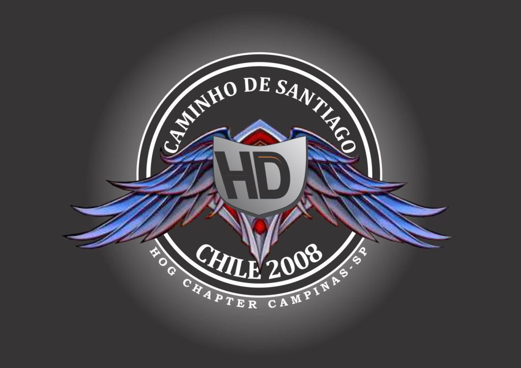 Logo Caminhode Santiago 2008