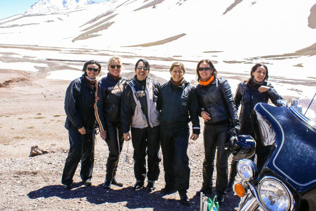 Nossas queridas nos Andes
