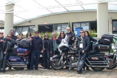 Retornando para Casa da viagem de moto ao Chile