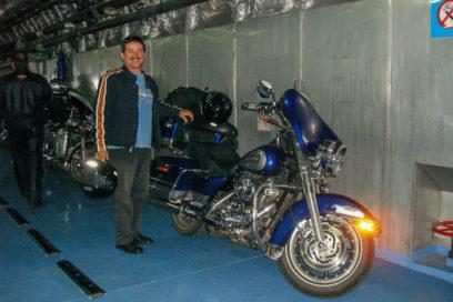 Cruzando o Rio da Prata com nossas motocicletas