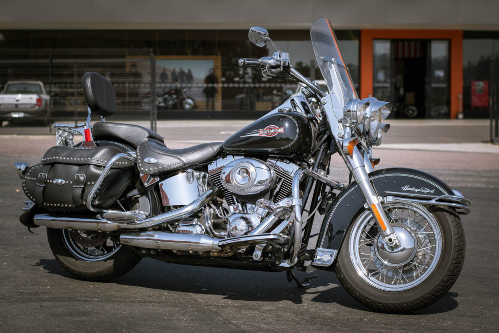 Minha moto Harley-Davidson