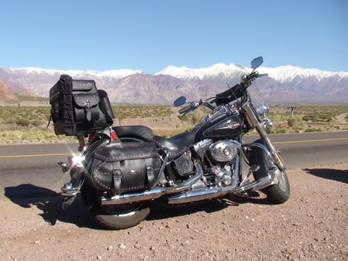 Caminho de Santiago (de moto rumo ao Chile)