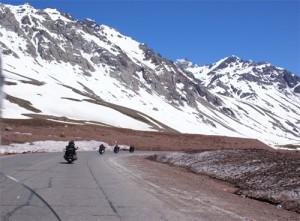 Cruzando de moto a Cordilheira dos Andes - Nov 2008