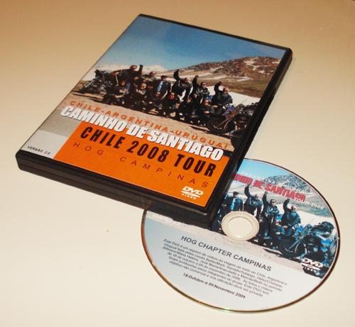 Viagem ao Chile de Harley-Davidson: DVD da viagem