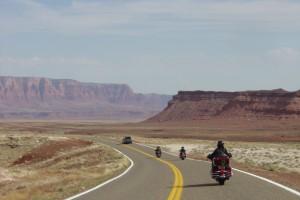 Estrada de Page/AZ para o Grand Canyon