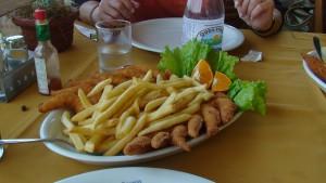 Camarão enpanado, uma delícia!