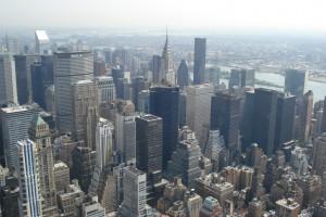 Vista a partir do Empire State Building