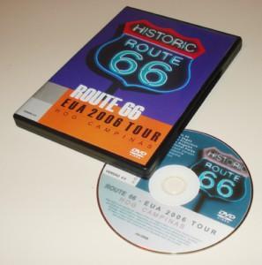 DVD da viagem a Rota 66