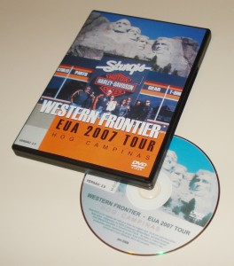 DVD EUA WEstern Frontier Journey - Set 2007