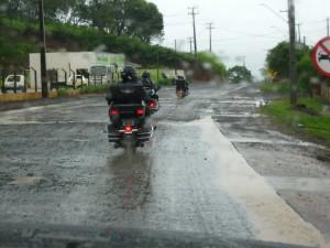 Chuva a caminho de União da Vitória