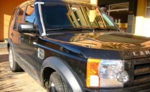 A poderosa Land Rover