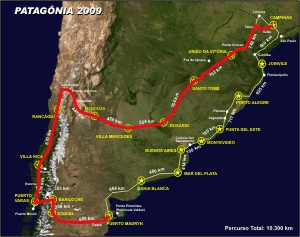 mapa Chile 2009 Blog Final Madryn