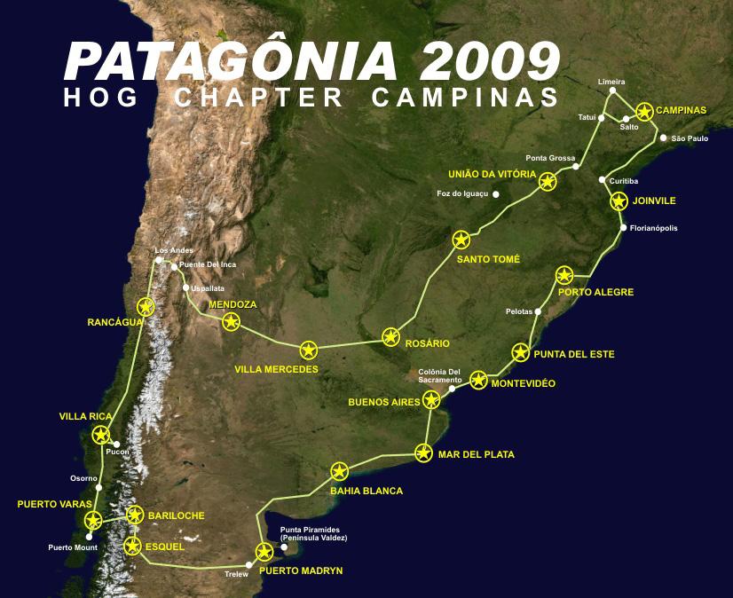 A Patagônia nos aguarda!!
