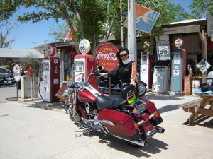 Parada na Hackberry General Store