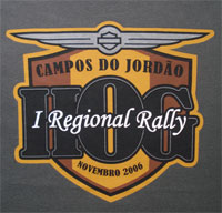 I Regional HOG Rally Campos do Jordão – Nov 2006