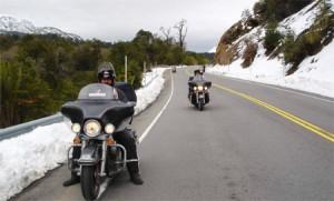 Andes chegando a Bariloche