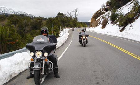 Patagônia 2009: Chegando em Bariloche deHarley