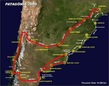 mapa Chile 2009 Blog Final Rio Colorado