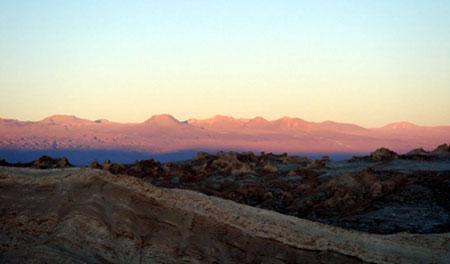 Vale de La Luna - Deserto do Atacama