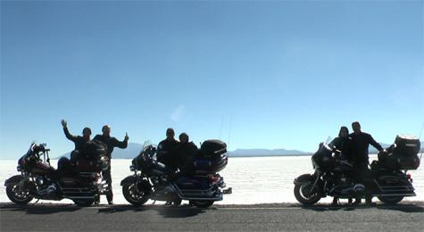 Salar no deserto de Atacama