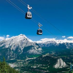 Teleférico em Banff