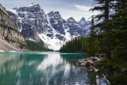 Moraine Lake e Banff