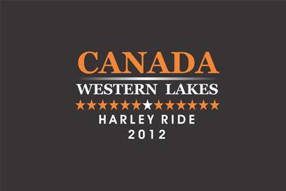 Canada 2012: Western Lakes Harley Ride