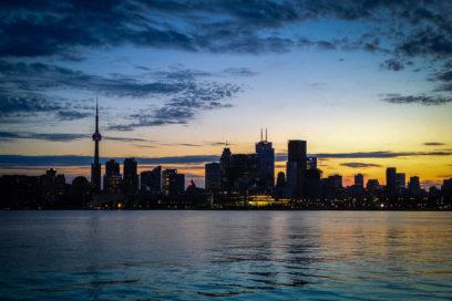 Início da viagem em Toronto
