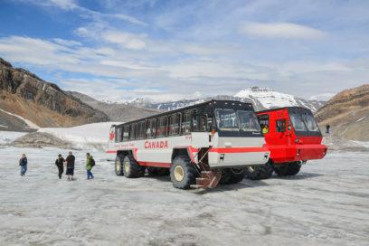 Columbia Icefields Glaciar