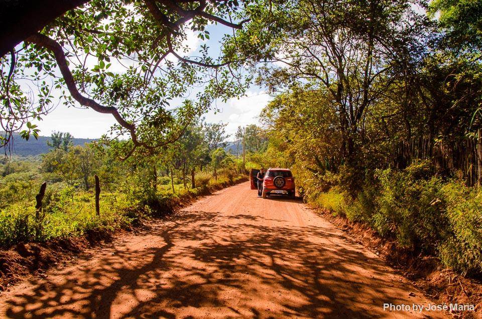 Estrada Real perto de Diamantina
