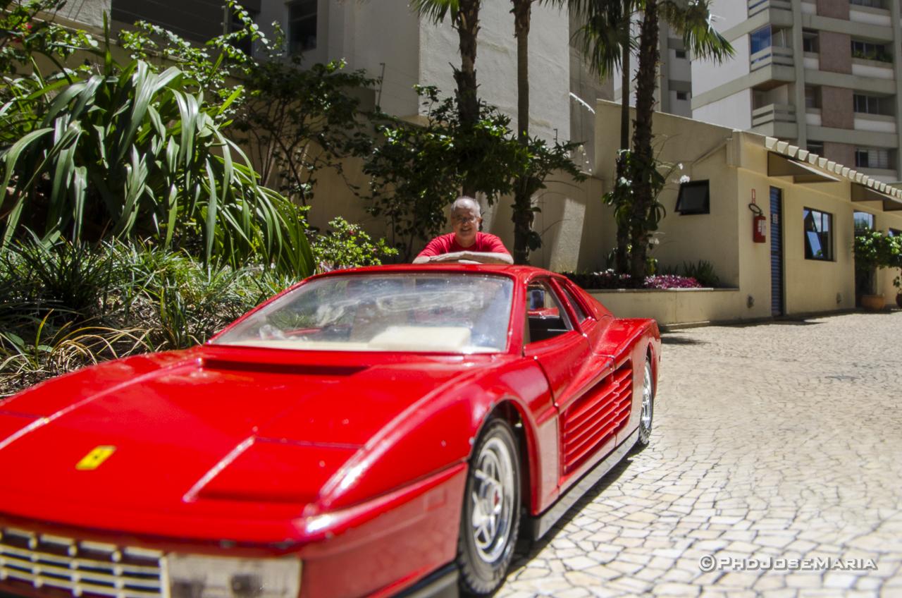 Making off de Foto de miniatura de Ferrari