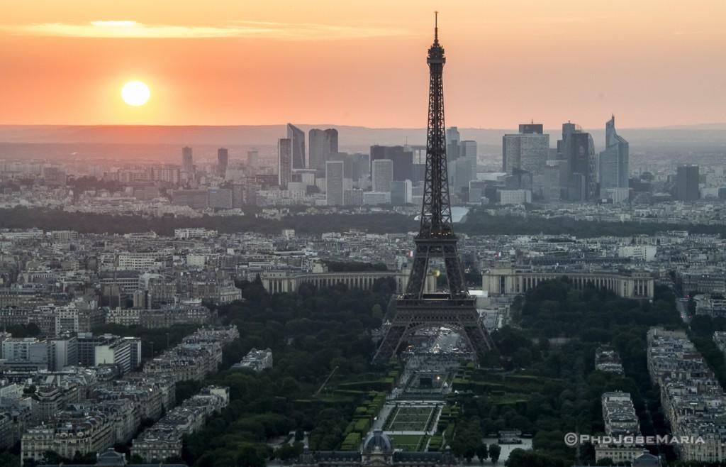 Vista da Torre Montparnasse