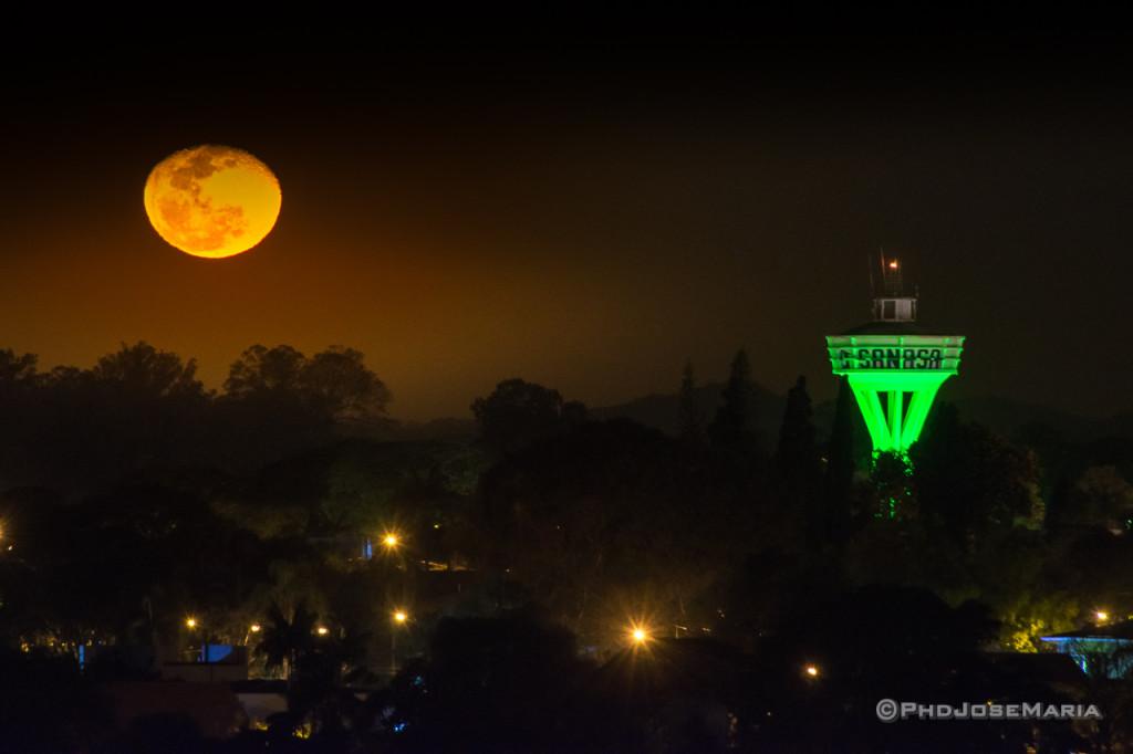 Lua sobre o bairro Nova Campinas