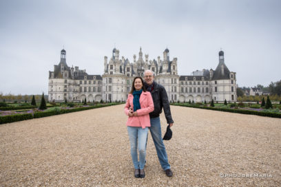 Chateau de Chambord no Vale do Loire