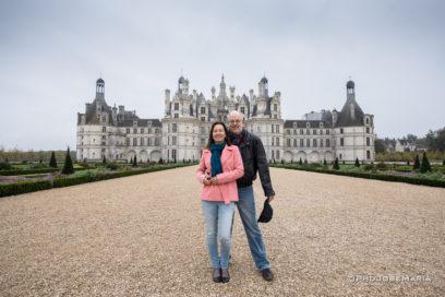 Chateau de Chambord no Vale do Loire
