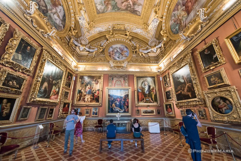 Viva Florença, viva a Itália, Palacio Pitti