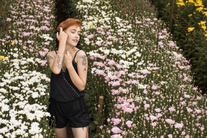 O charme das Flores de Holambra
